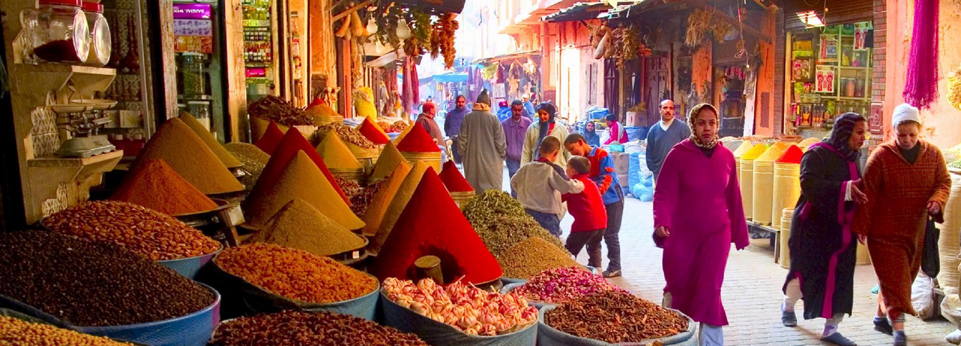 MAROCCO: CITTÀ' IMPERIALI E OASI