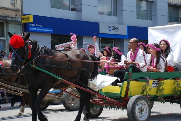 Bulgaria e Festa delle Rose - giugno 2012
